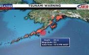 Ισχυρός σεισμός 8,2 Ρίχτερ στην Αλάσκα – Προειδοποίηση για τσουνάμι