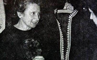 Καίτη Δαρδούφα, η διάσημη κοζανίτισα σχεδιάστρια μόδας