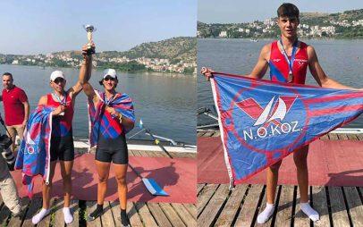 Δυναμική παρουσία του ΝΟΚ στο πανελλήνιο πρωτάθλημα της Καστοριάς