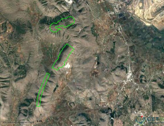 Τα Σιδερά γεμίζουν και με αιολικά πάρκα -Τρεις σταθμοί στην κορυφογραμμή
