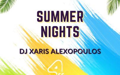 Summer nights στο 4Coffee με τον Dj Xari Alexopoulo