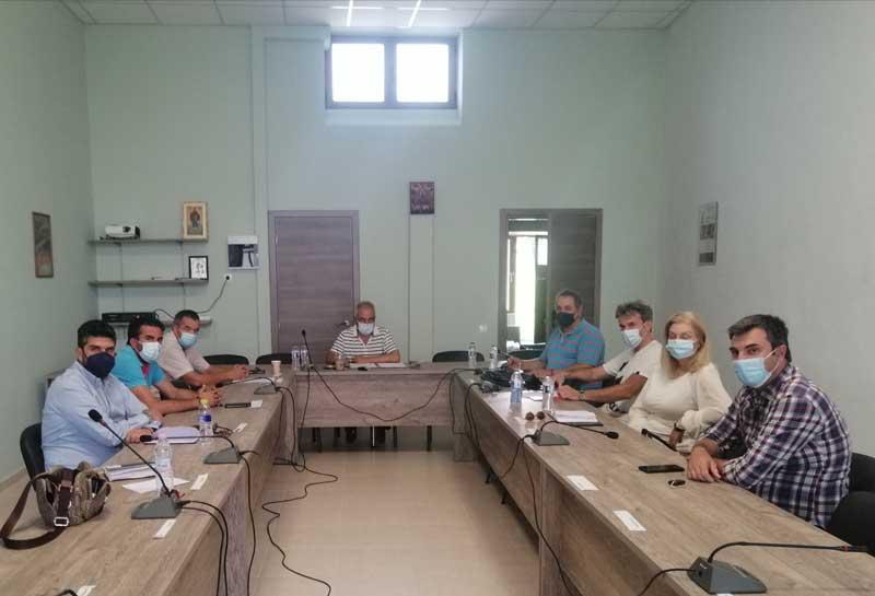 Συνάντηση της Διοίκησης του ΤΕΕ/ΤΔΜ με εκπροσώπους του Δήμου Βελβεντού