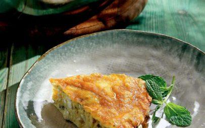 Εύκολη τυρόπιτα χωρίς φύλλο