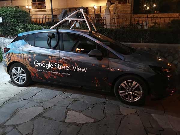 Η Google Street View στη Σιάτιστα