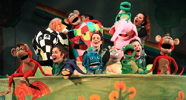 """Ο """"Έλμερ ο Παρδαλός Ελέφαντας"""" το Σάββατο 18 Σεπτεμβρίου στο Υπαίθριο Θέατρο Κοζάνης"""