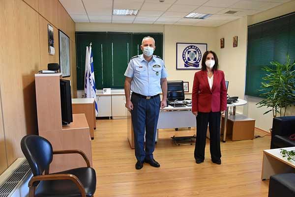 Επίσκεψη της Καλλιόπης Βέττα στην Γενική Περιφερειακή Αστυνομική Διεύθυνση Δυτικής Μακεδονίας