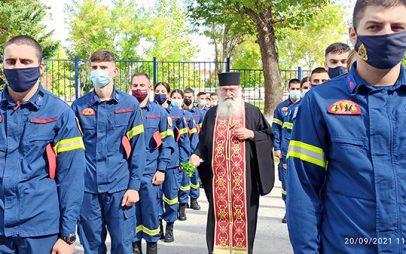 Πραγματοποιήθηκε σήμερα ο αγιασμός της σχολής πυροσβεστών Πτολεμαΐδας