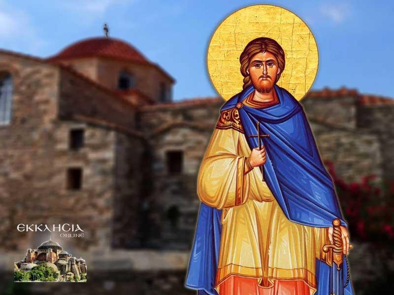 Άγιος Νικήτας ο Γότθος ο μεγαλομάρτυρας-15 Σεπτεμβρίου η Εκκλησία μας τιμά την μνήμη του