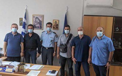 Επίσκεψη μελών του ΔΣ της Ένωσης Αξιωματικών Αστυνομίας Δυτικής Μακεδονίας στην Διεύθυνση Αστυνομίας Γρεβενών