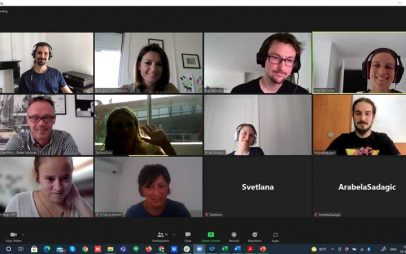 """Τρίτη εταιρική συνάντηση (διαδικτυακά) στο πλαίσιο του ευρωπαϊκού προγράμματος Erasmus+ με τίτλο """"SpeakER"""""""