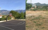 Χρήστος Ελευθερίου: Γήπεδο μπάσκετ Ιμέρων όπως ήταν και όπως έγινε