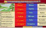 Ποντιακές λέξεις με αρχαιοελληνική προέλευση: 1 Βοσ̌κίζ' , 2 Σουμών ,3 Λύουμαι ,4 Νεβζήν' ,5. Τ'ς λουζ' ,6 Ανταμών'