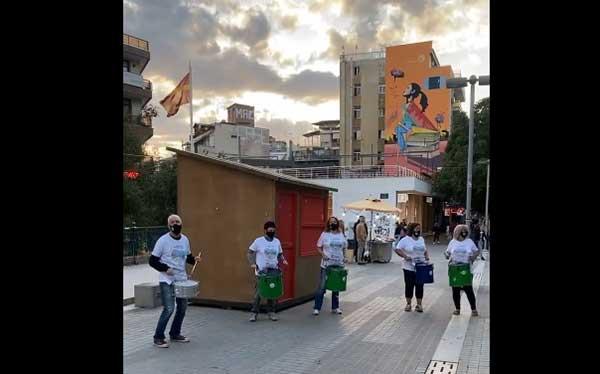 Το σύνολο των κρουστών του Δημοτικού Ωδείου Κοζάνης στην πλατεία κλείνει την Ευρωπαϊκή Εβδομάδα Κινητικότητας