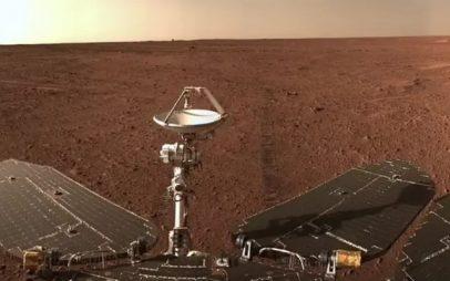 Πλανήτης Άρης: Πανοραμική εικόνα από το κινεζικό rover – Δείτε φωτογραφίες