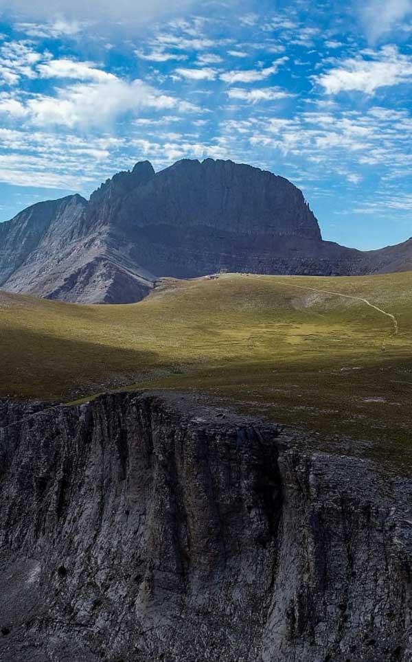 Φωτογραφία της ημέρας: Το Οροπέδιο των Μουσών και οι κορυφές του Ολύμπου