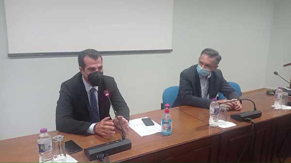 Ευρεία Σύσκεψη για την πορεία της Πανδημίας και την αντιμετώπισή της στην Περιφέρεια Δυτικής Μακεδονίας, παρουσία του Υπουργού Υγείας Θάνου Πλεύρη