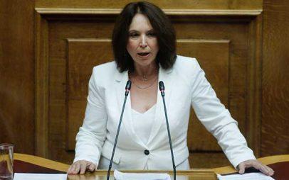 Καλλιόπη Βέττα: Το Υπουργείο Πολιτισμού δρα με προχειρότητα στο εξωτερικό και με αναλγησία στο εσωτερικό