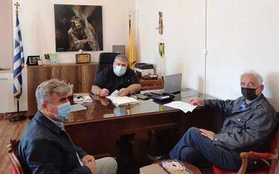Υπογραφή σύμβασης για το έργο: «Συντήρηση στέγης πολιτιστικού κέντρου Μεσόβουνου του Δήμου Εορδαίας»