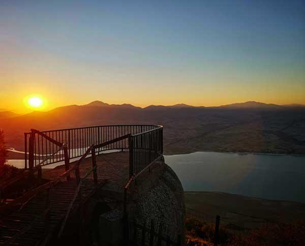Η φωτογραφία της ημέρας: Ηλιοβασίλεμα στον Άγιο Χριστόφορο Προσηλίου