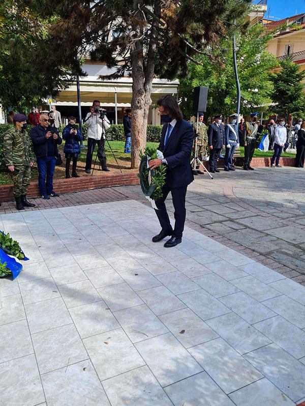 Μήνυμα του Βουλευτή Γρεβενών κ. Ανδρέα Πάτση για την 13η Οκτωβρίου, ημέρα Απελευθέρωσης των Γρεβενών από τον τουρκικό ζυγό