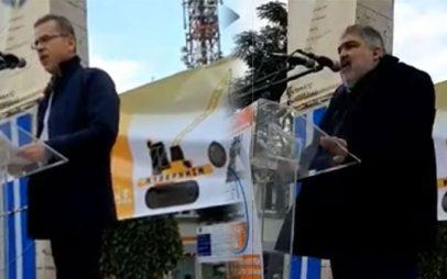 Τι ανέφεραν οι δήμαρχοι Κοζάνης και Εορδαίας στο συλλαλητήριο έναντι στην ιδιωτικοποίηση της ΔΕΗ