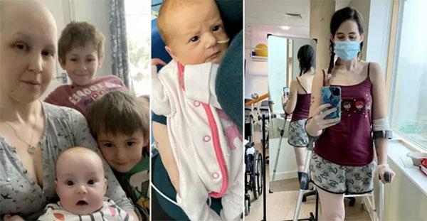Έγκυος γυναίκα με καρκίνο πήρε απόφαση να ακρωτηριάσει το πόδι της από το να κάνει έκτρωση