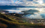 Φωτογραφία ημέρας: Καστοριά πρωινός ουρανός και λίμνη…