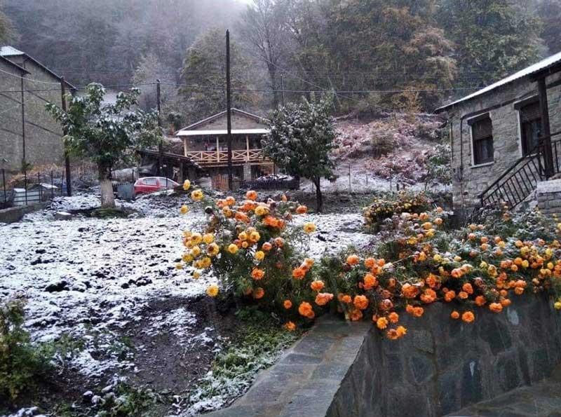 Το πρώτο χιόνι και στην Π.Ε.Καστοριάς, στην Κοτύλη σε υψόμετρο 1.450 μ