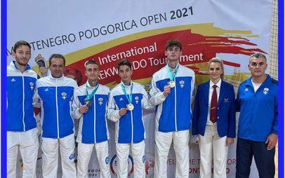 """Τρία μετάλλια για τη """"Μακεδονική Δύναμη"""" Κοζάνης στην Podgorica του Μαυροβουνίου"""
