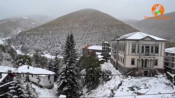 Πανέμορφες εικόνες από το Πισοδέρι και το χιονοδρομικό κέντρο της Βίγλας
