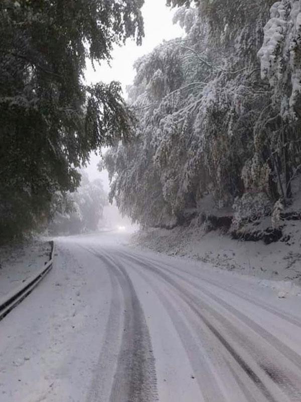 Χιόνια και στη Βίγλα Φλώρινας