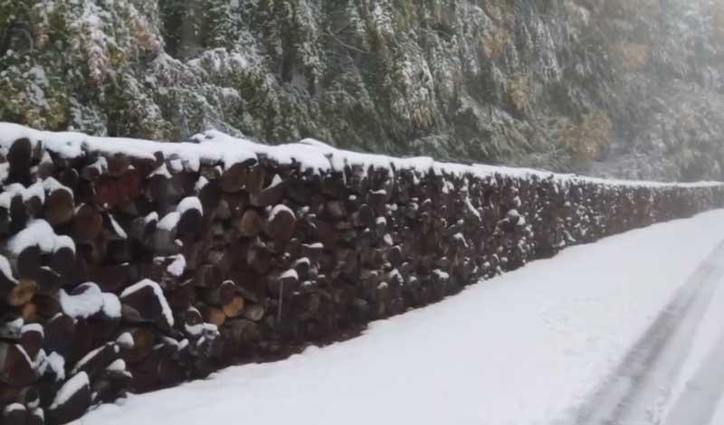 """Γιώργος Βασιλειάδης: """"Λευκές καλημέρες από το Μουρίκι Εορδαίας!!!"""""""